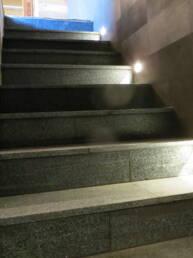 éclairage escaliers St-Luc